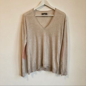 Zadig & Voltaire Apple Patch-Sleeve Sweater